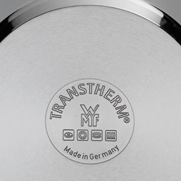 WMF Perfect Pro Schnellkochtopf Set 2-teilig 4,5l & 3,0l mit Einsatz-Set, Cromargan Edelstahl poliert, 2 Kochstufen All-In-One Drehknopf, induktionsgeeignet, spülmaschinengeeignet, Ø 22 cm - 4