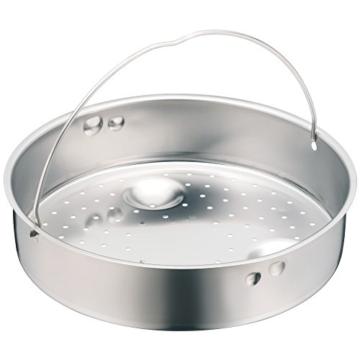 WMF Schnellkochtopf Einsatz, Dünsteinsatz, gelocht, für Ø 22 cm, Cromargan Edelstahl, spülmaschinengeeignet - 1